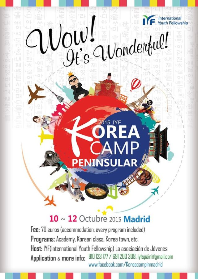 Korea Camp Madrid