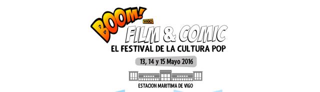 Boom film and Comic Vigo