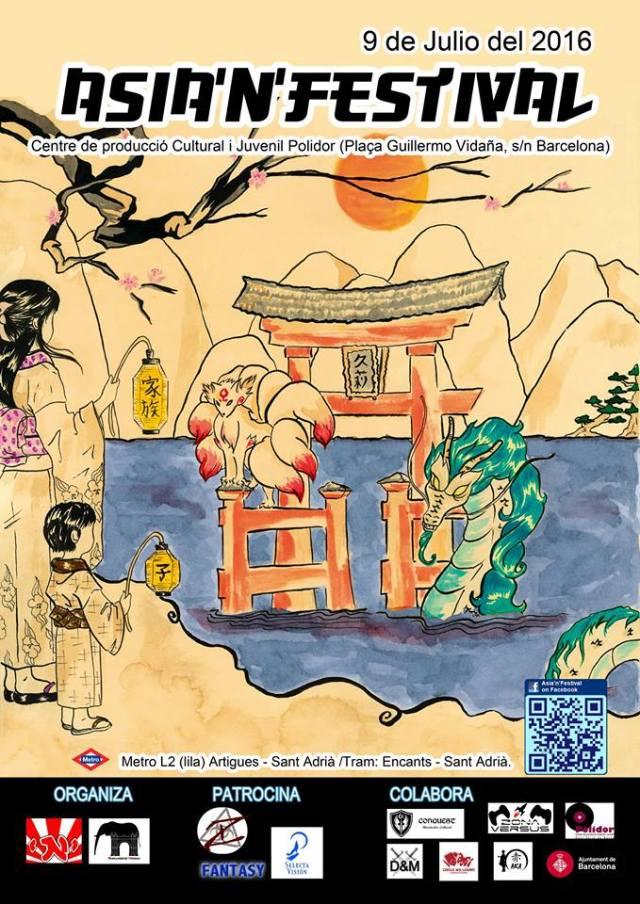 Asia'n'Festival cartel