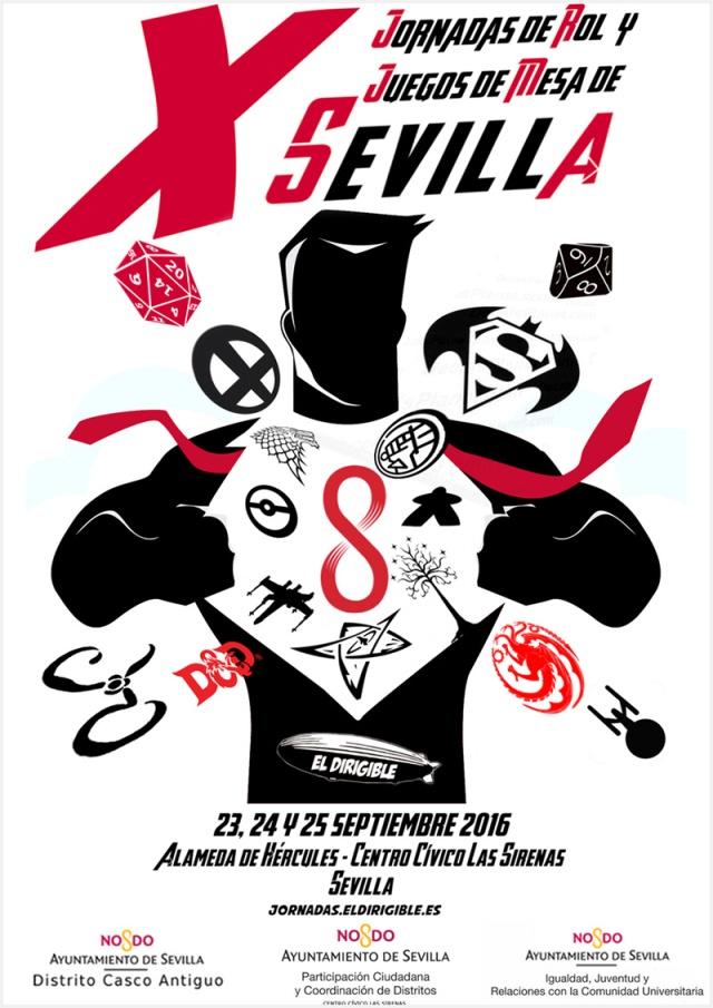 X Jornadas de Rol y Juegos de Mesa de Sevilla